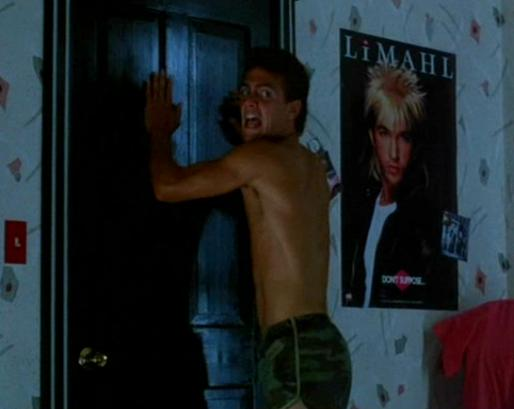 Why be scared of Freddy when there's a giant poster of Limahl over your bed!?