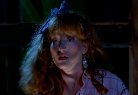 Lisa demonstrating what happens if you look like Meryl Streep and dress like Tiffany