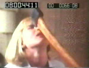 A cut frame from Buechler's workprint footage