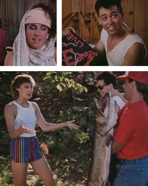 Some of the many fashion crimes committed in Blood Hook