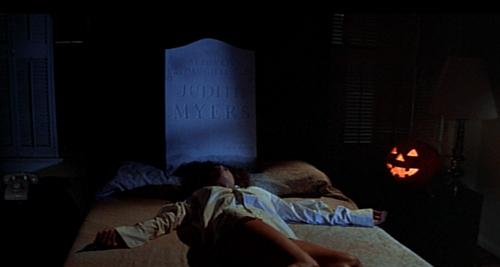 halloween 1978 annie dead bed gravestone