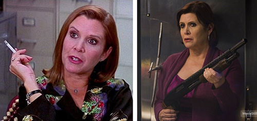 carrie fisher scream 3 sorority row