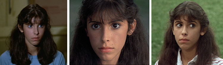 the many stares of Angela sleepaway camp 1983