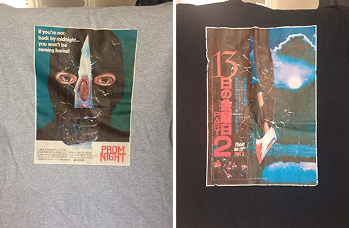 prom night t shirt friday the 13th part 2 t-shirt jason voorhees