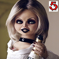 tiffany valentine jennifer tilly bride of chucky 1998