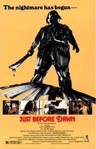 just before dawn 1981 poster