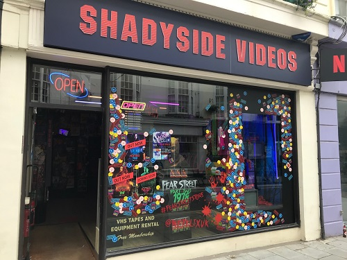 fear street shadyside video pop-up brighton 2021